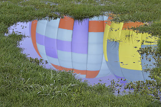 Puddle Reflections by Linda Geiger