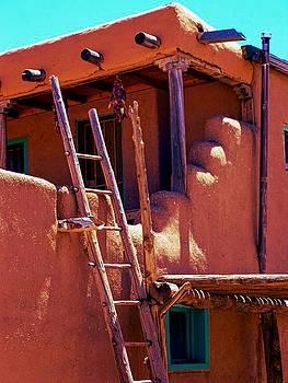 Pueblo Adobe by Becky Kurth