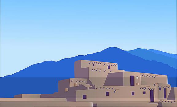 Pueblo by David Strong
