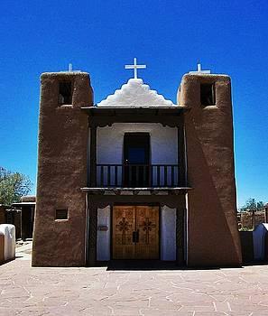 Pueblo Mission by Becky Kurth
