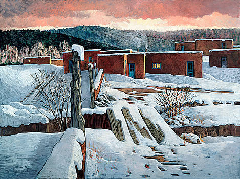 Pueblo Morning Light by Donna Clair