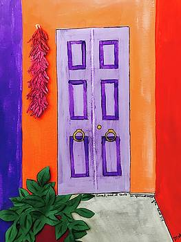 Puerta Morado by Mela Lucia