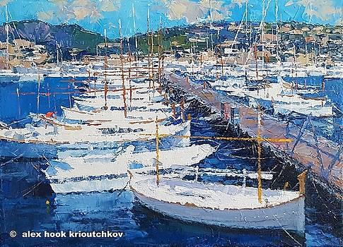 Puerto de Andratx IV by Alex Hook Krioutchkov