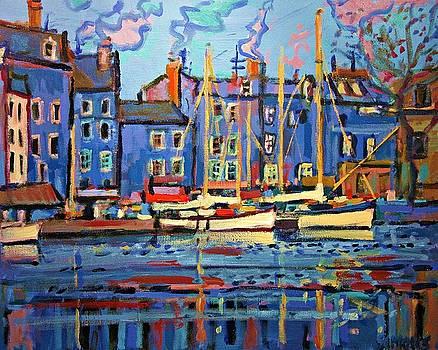Puerto De Honfleur by Brian Simons
