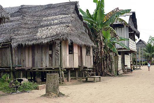 Harvey Barrison - Puerto Miguel Village Scene Three