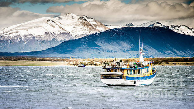 Puerto Natales Patagonia Chile by Jim DeLillo