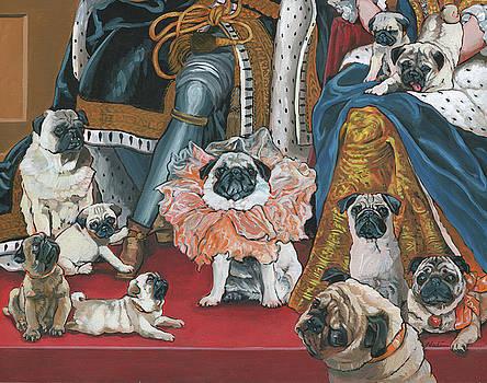 Pug- Coronation by Nadi Spencer