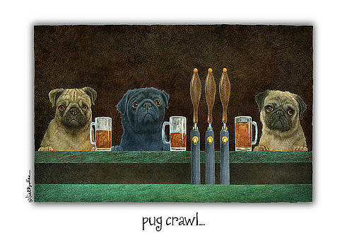 Will Bullas - pug crawl...