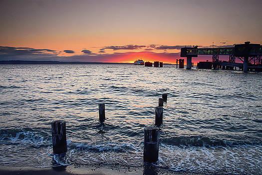 Michael McAuliffe - Puget Sound July Sunset
