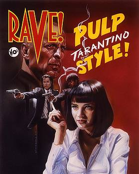 Pulp Fiction by Timothy Scoggins