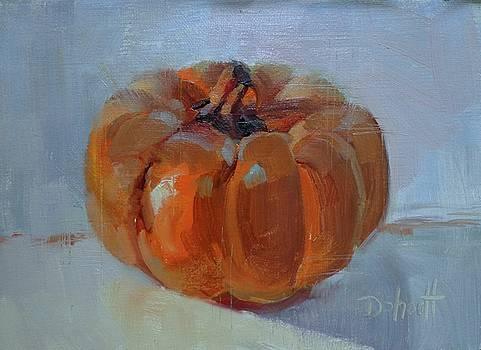 Pumpkin Alone  by Donna Shortt
