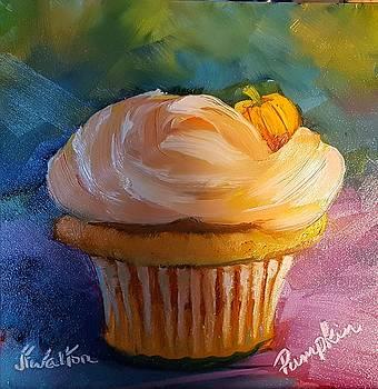 Pumpkin Cupcake by Judy Fischer Walton