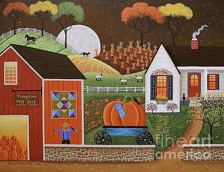 Pumpkin Farm by Mary Charles