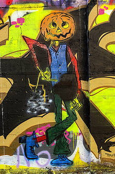 Pumpkin head by Hans Franchesco