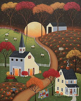 Pumpkin Moon by Mary Charles