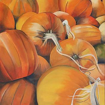 Pumpkin Patch by Lori A Johnson