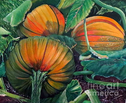 Pumpkin Patch by Marilyn McNish