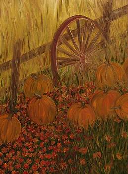 Pumpkin Wheel by Shiana Canatella