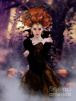 Pumpkin Witch by Shanina Conway