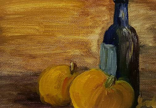Pumpkins and Wine  by Steve Jorde