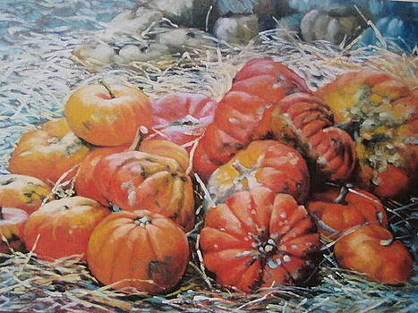 PUMPKINS for fall by Susan Jenkins
