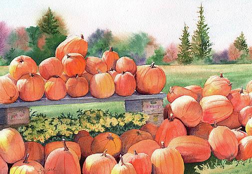 Pumpkins for Sale by Vikki Bouffard