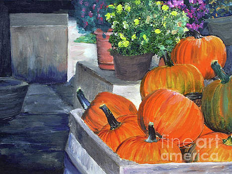 Pumpkins in Glover by Donna Walsh