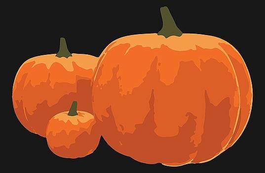 Pumpkins by Jennifer Hotai