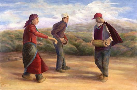 Pun Dancers by Wicki Van De Veer
