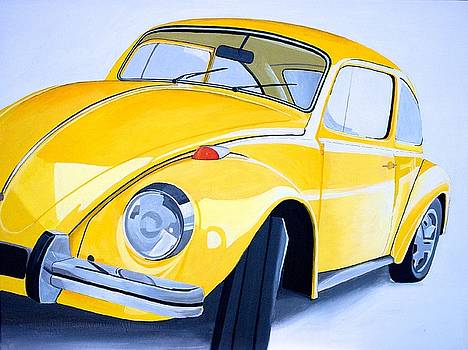 Punch Buggy Yellow by Devan Gregori