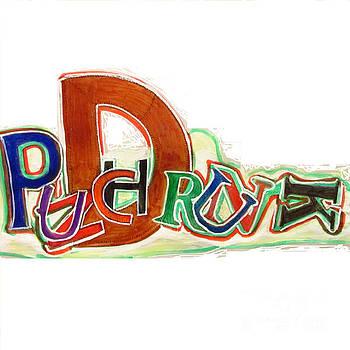 PUNCH DRUNK on POYO - SIERRA LEONE - Tee Shirt Art by Mudiama Kammoh
