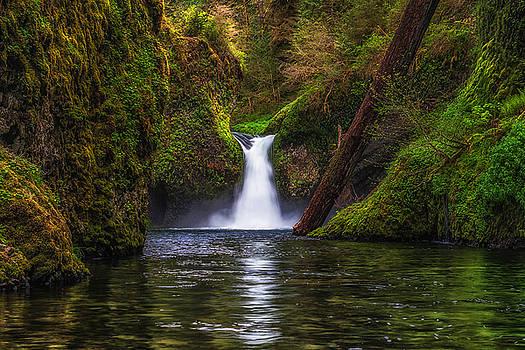 Punchbowl Falls by Chuck Jason