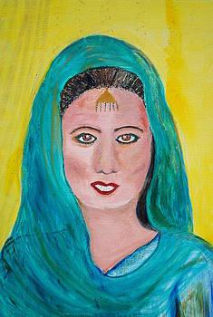 Punjabi Woman by Aysha Khwaja
