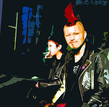 Punks by Peter Oconor
