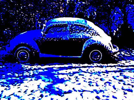 Punky Valentine snow by Curt Curt