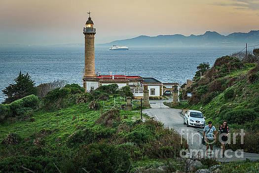 Punta Carnero Lighthouse Algeciras Spain by Pablo Avanzini