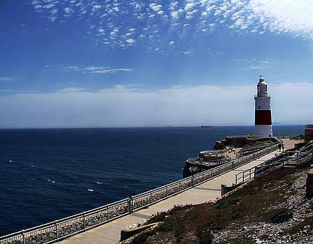 Punta Europa lighthouse, Gibraltar, Spain by Tamara Sushko
