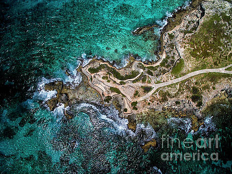 Punta Sur from Above - Aerial View, Isla Mujeres by David Daniel