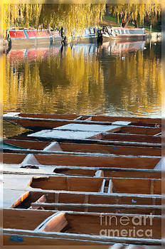 Punts in Autumn by Andrew Michael