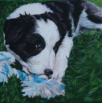 Pup No.1 by Wendy Whiteside