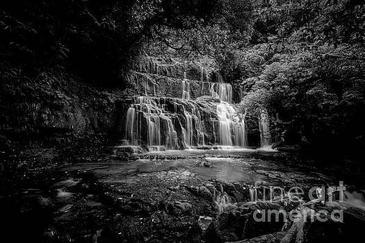 Purakaunui Falls 2 by Paul Woodford