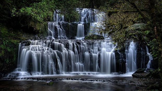 Purakaunui Falls by Brad Grove