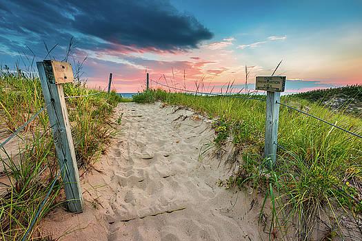 Pure Michigan Sunset by Sebastian Musial