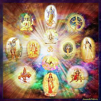 Purnamida Purnamidam - One Divine Source for all Gods and Goddesses by Ananda Vdovic
