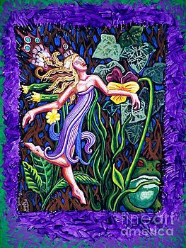 Genevieve Esson - Purple and Green Fairy