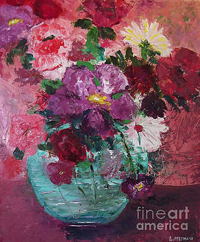 Purple and Pink Floral by Emily McLemore