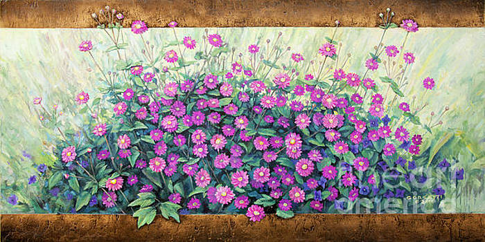 Purple and Pink Flowers by Rob Corsetti