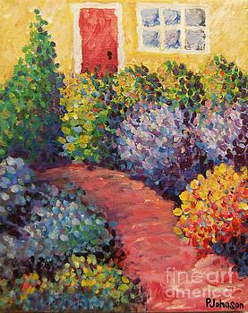 Peggy Johnson - Purple Aster Path