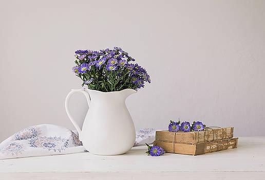 Kim Hojnacki - Purple Aster Still Life