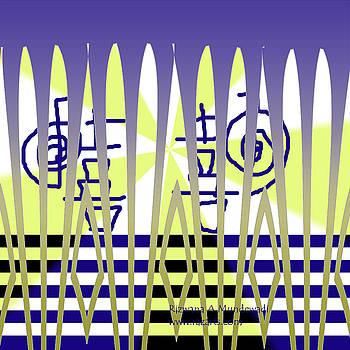 Purple Blessings by Rizwana Mundewadi